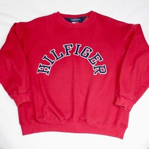 Tommy Hilfiger Embroidered Spellout Crewneck